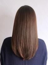 艶髪セミロング(髪型セミロング)