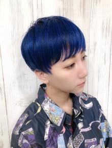ブルーショートカット☆(ビューティーナビ)