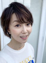 40代50代大人小顔ショート☆(髪型ショートヘア)