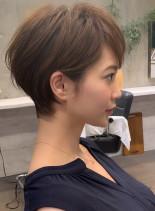 ☆ボリュームUP☆大人レイヤーショート(髪型ショートヘア)