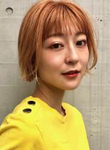 ゆるふわ◎ワンカールミニボブ(髪型ショートヘア)