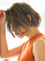柔らかフレンチミニボブ(髪型ボブ)