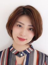 誰でも似合う☆ひし形ショートボブ(髪型ショートヘア)