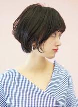 辺見えみりさん風☆愛されショートカット(髪型ショートヘア)
