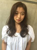 【30代40代】女性に人気デジタルパーマ(髪型ロング)