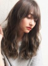 イルミナグレージュ☆デジタルパーマ (髪型ロング)