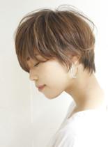 ☆耳掛け大人ショート☆(髪型ショートヘア)