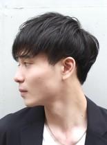 ナチュラルマッシュ(髪型メンズ)
