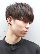 ツーブロックマッシュ(髪型メンズ)