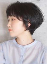 長持ち*襟足すっきりお手入れ簡単ショート(髪型ショートヘア)