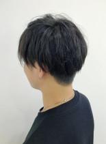 2ブロックスタイル(髪型メンズ)