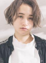 【30代、40代に人気】抜け感ボブ(髪型ボブ)