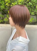 30代40代 大人かわいいショートボブ(髪型ショートヘア)