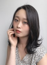 色っぽミディアム(髪型ミディアム)