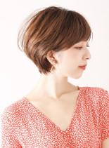 30代☆大人可愛いショート(髪型ショートヘア)