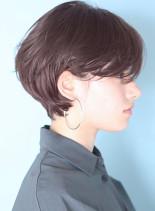 耳に掛けられる◇ひし形ハンサムショート(髪型ショートヘア)