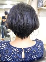北川景子さん風ショート(髪型ショートヘア)