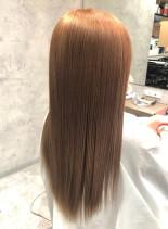 艶髪ストレート(髪型ロング)