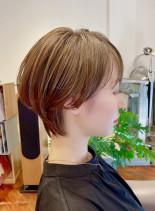 横顔美人◎耳掛けスッキリショートヘア(髪型ショートヘア)