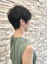 40代50代お手入れ簡単ベリーショート(髪型ベリーショート)