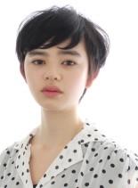 大人かわいい☆外国人風ベリーショート(髪型ベリーショート)