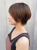 大人のお手入れ簡単ショートヘア(髪型ショートヘア)