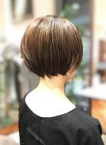大人丸みショート(髪型ショートヘア)