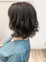 ミニボブハイライト(髪型ボブ)