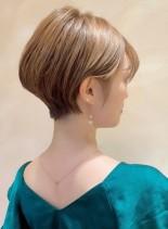 【30代40代】小顔ショート(髪型ショートヘア)