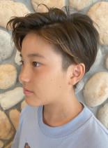 ジャスティンビーバー風ツーブロック(髪型メンズ)
