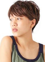 大人女性フレンチベリーショート(髪型ベリーショート)