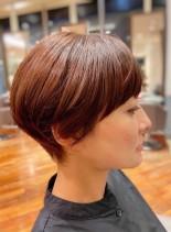 大人髪ショートスタイル(髪型ショートヘア)