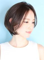 30代40代50代ひし形ショートボブ☆(髪型ショートヘア)