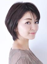 黄金バランスナチュラルショートヘアー(髪型ショートヘア)