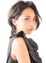 大人のショートウルフ/30代40代(髪型ショートヘア)