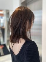ミディアムヘア(髪型ミディアム)