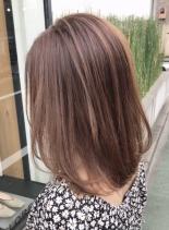 【色っぽ大人ミディアム】(髪型ミディアム)