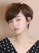 ふわっと柔らかい☆大人のショートヘア(髪型ショートヘア)