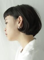 髪質改善ナチュラルストレートボブ(髪型ボブ)