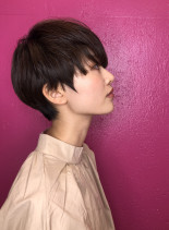 30代40代50代 大人ベリーショート(髪型ベリーショート)