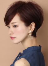 ☆スタイリング簡単☆スッキリ小顔ショート(髪型ショートヘア)