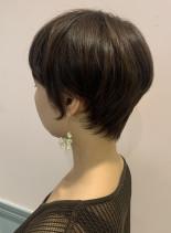 大人ショートヘア(髪型ショートヘア)
