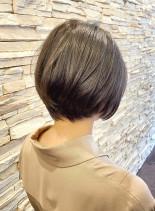 30代40代50代 大人ショートボブ(髪型ショートヘア)