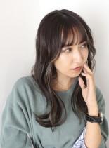 韓国式レイヤーで作る大人美人ロング(髪型ロング)