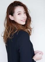 大人可愛い外国人パーマ(髪型ロング)