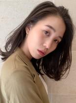 40代50代◎くびれミディ×抜け感ミディ(髪型ミディアム)