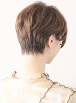 上品な大人のベリーショート(髪型ショートヘア)