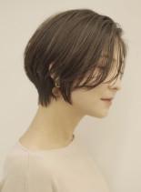 手入れ簡単☆美人ショートボブ(髪型ショートヘア)
