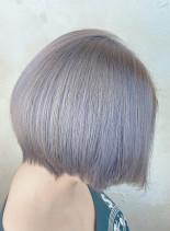 ホワイトアッシュ(髪型ショートヘア)