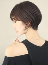 30代 40代 大人美人ショートカット (髪型ショートヘア)